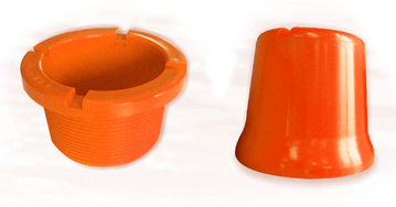PLASTIC THREAD PROTECTORS FOR DRILL PIPES (Closed End / CE)